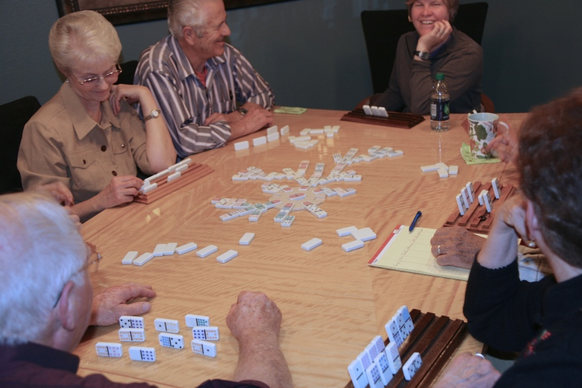 A night of dominoes