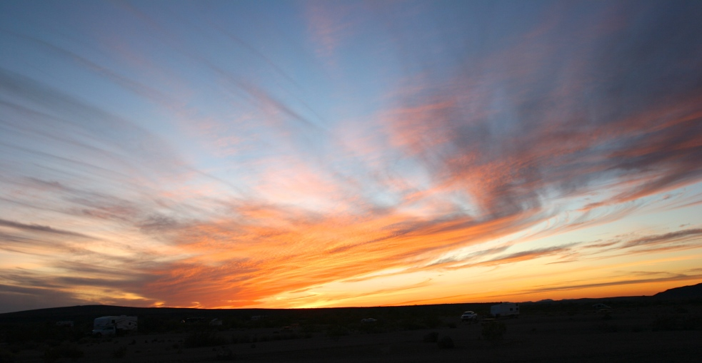 Another fabulous desert sunset