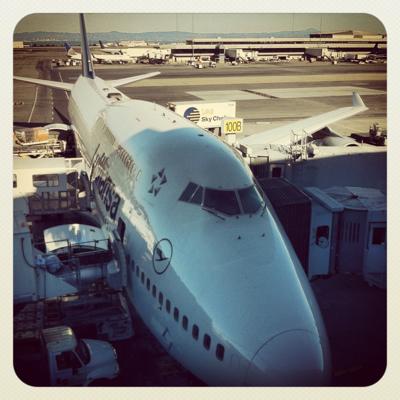 My ride --- Boeing 747-400
