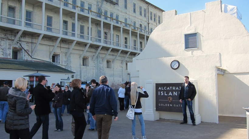 "The obligatory ""I was at Alcatraz"" picture"