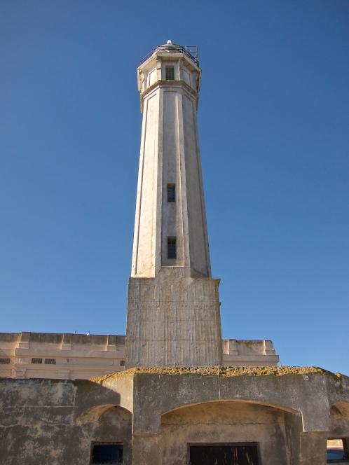 The island's original lighthouse
