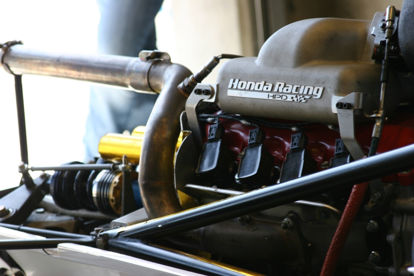 Tim's mighty Honda engine