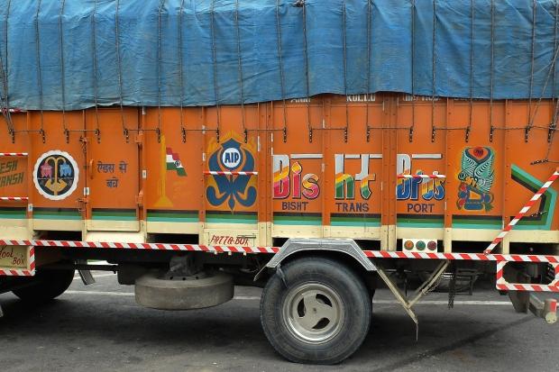 A transport truck