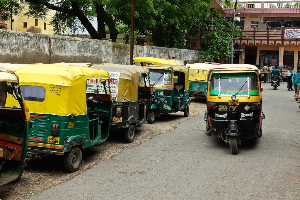 Rickshaws everyehere
