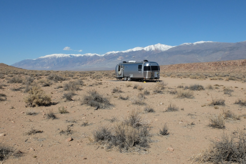 Bishop Boondocking Site